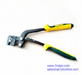 Metal Channel Letter Punch Plier