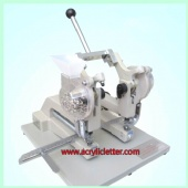 Manual Twin-Heads Eyelet Machine